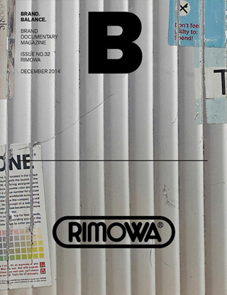 매거진B issue#32 RIMOWA