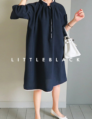 THE LITTLE. 배색 레이스OPS